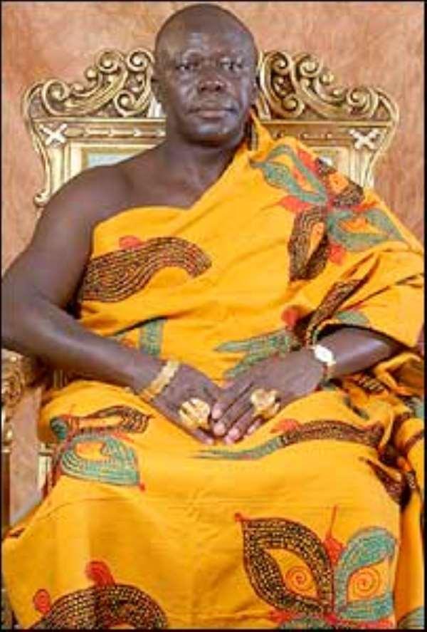 Cocaine scandal: Otumfuo breaks silence